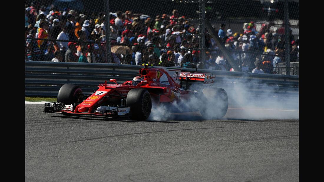 Kimi Räikkönen - Ferrari - GP USA 2017 - Rennen