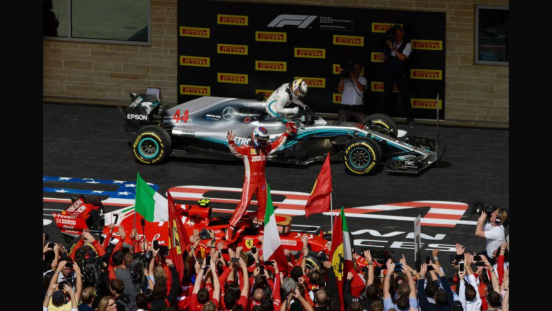 Kimi Räikkönen - Ferrari - GP USA 2018
