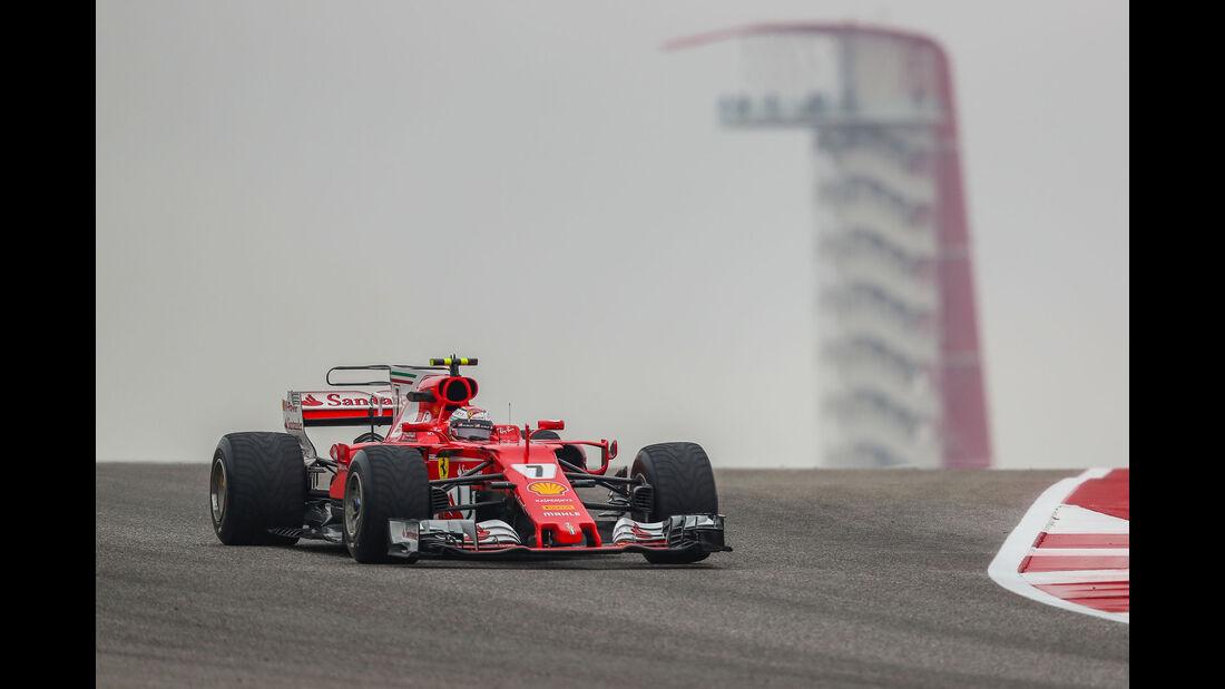 Kimi Räikkönen - Ferrari - GP USA - Austin - Formel 1 - Freitag - 20.10.2017