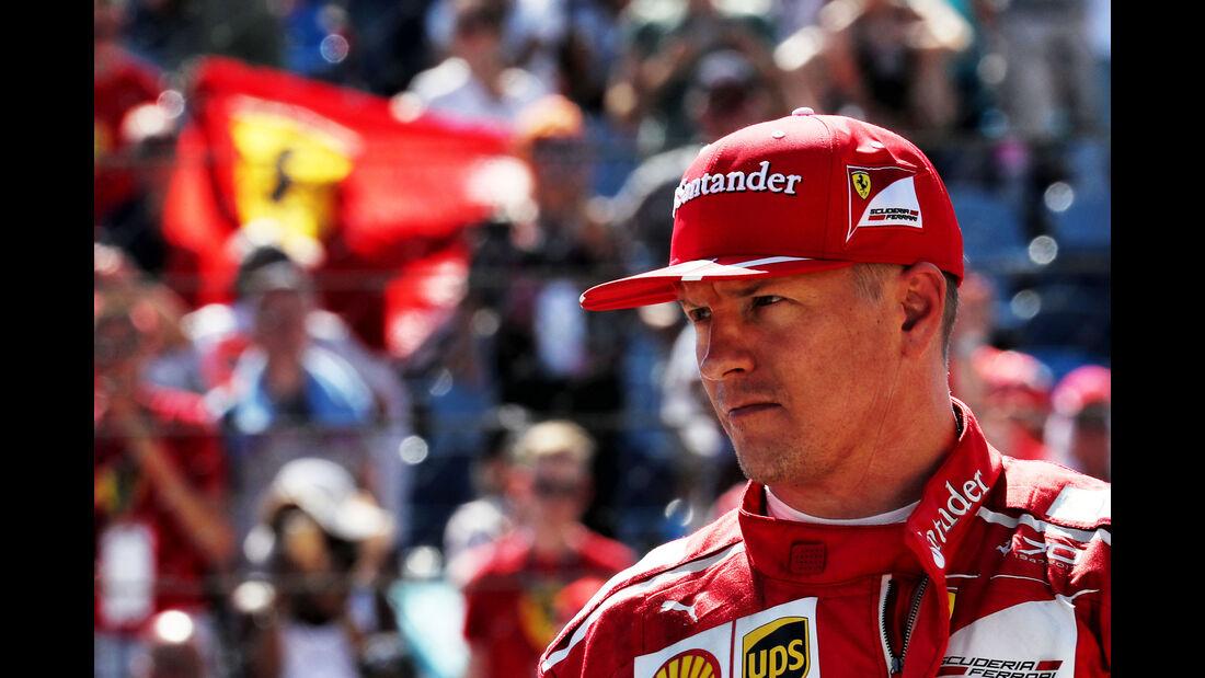 Kimi Räikkönen - Ferrari - GP Ungarn 2017 - Budapest - Qualifying