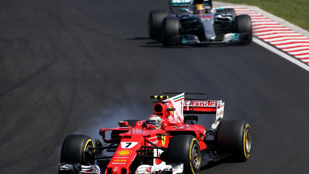 Kimi Räikkönen - Ferrari - GP Ungarn 2017 - Budapest - Rennen