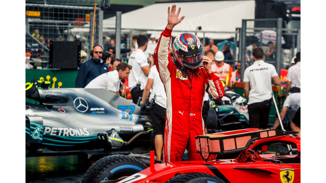 Kimi Räikkönen - Ferrari - GP Ungarn 2018 - Qualifying