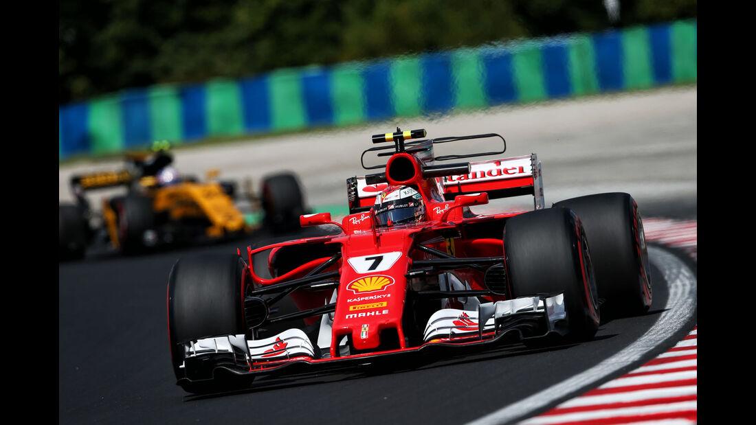 Kimi Räikkönen - Ferrari - GP Ungarn - Budapest - Formel 1 - 28.7.2017