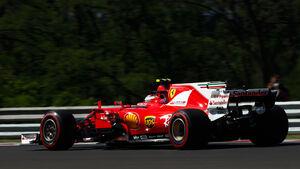 Kimi Räikkönen - Ferrari - GP Ungarn - Budapest - Formel 1 - Freitag - 28.7.2017