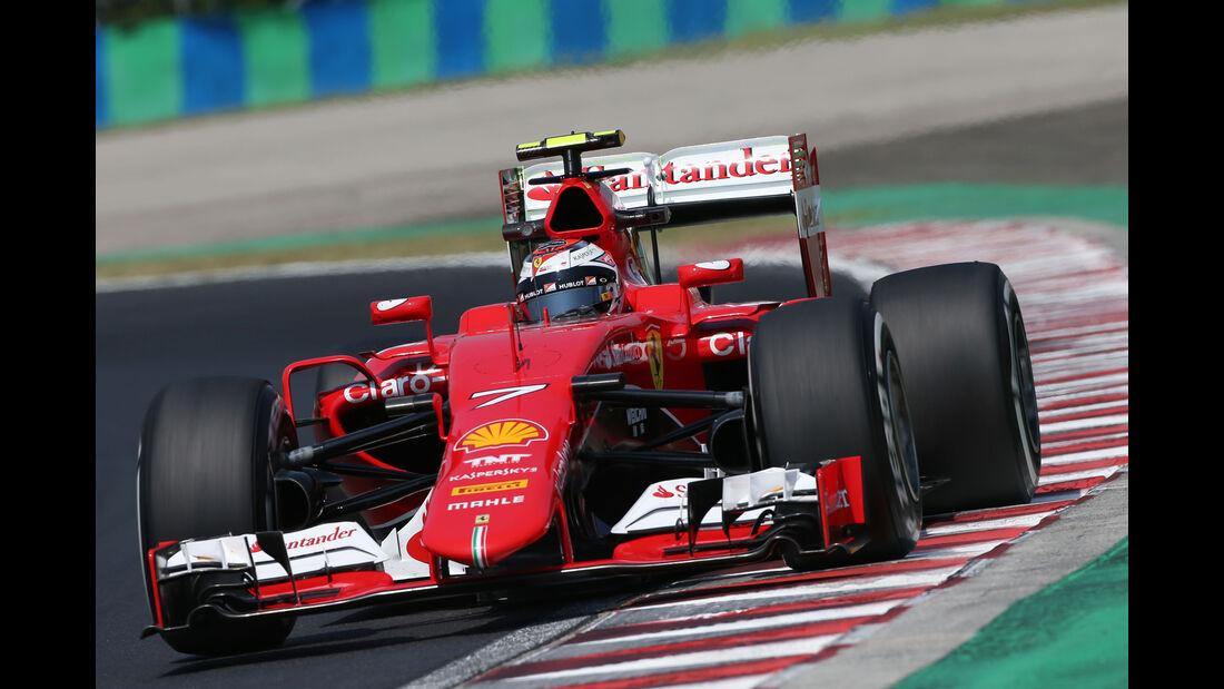 Kimi Räikkönen - Ferrari - GP Ungarn - Budapest - Freitag - 24.7.2015