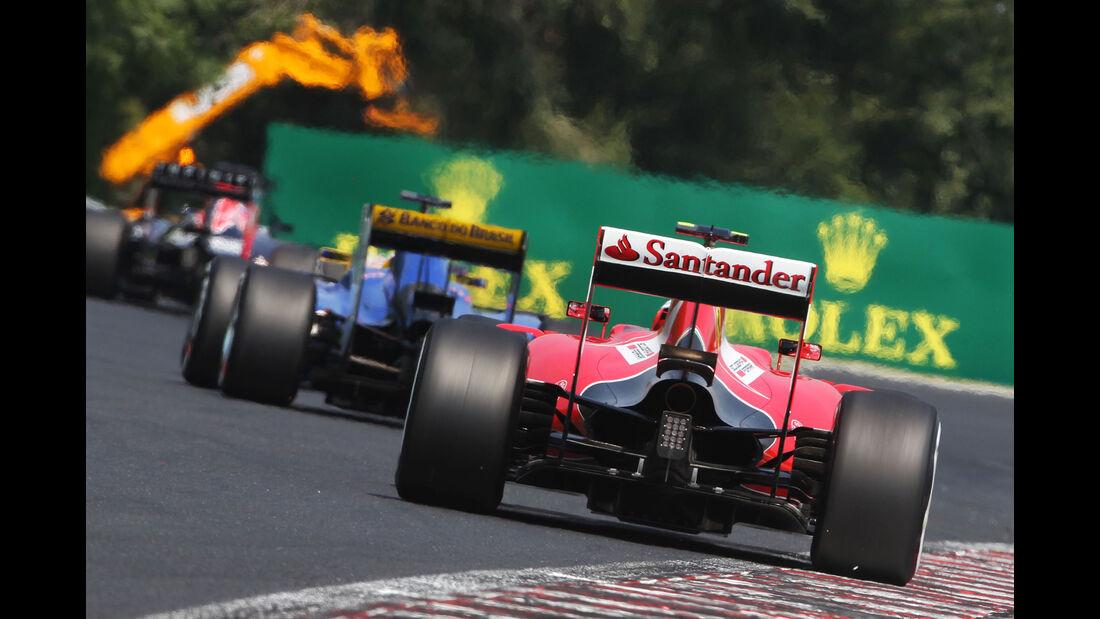 Kimi Räikkönen - Ferrari - GP Ungarn - Budapest - Qualifying - Samstag - 25.7.2015