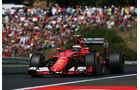 Kimi Räikkönen - Ferrari - GP Ungarn - Budapest - Rennen - Sonntag - 26.7.2015