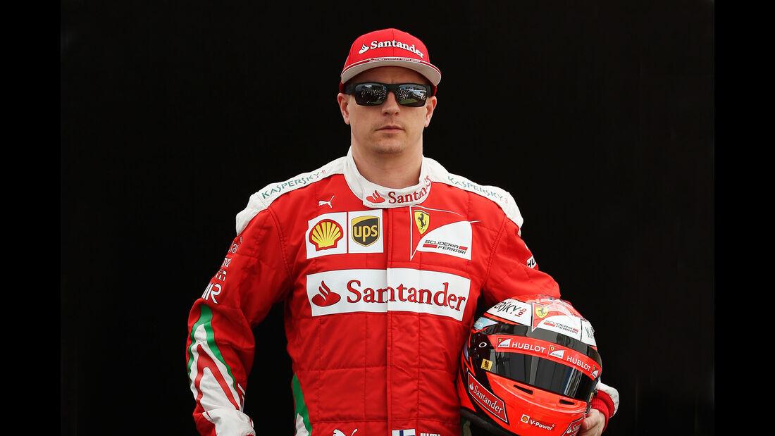 Kimi Räikkönen - Ferrari - Porträt - Formel 1 - 2016