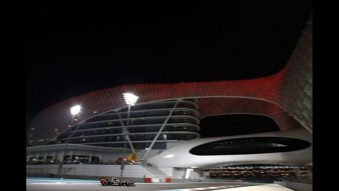 Kimi Räikkönen - Formel 1 - GP Abu Dhabi - 02. November 2012
