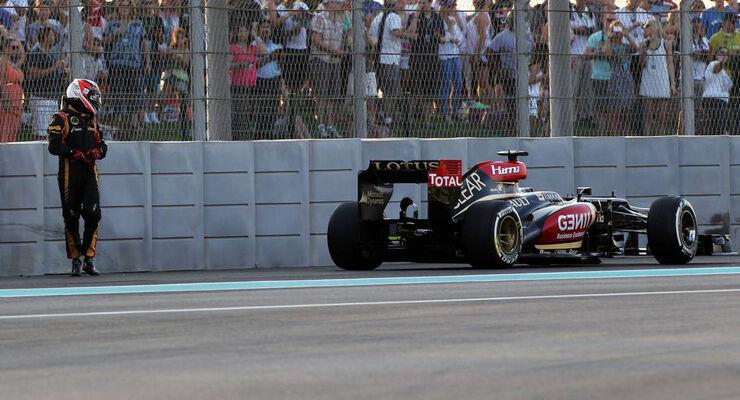 Kimi Räikkönen - Formel 1 - GP Abu Dhabi - 03. November 2013