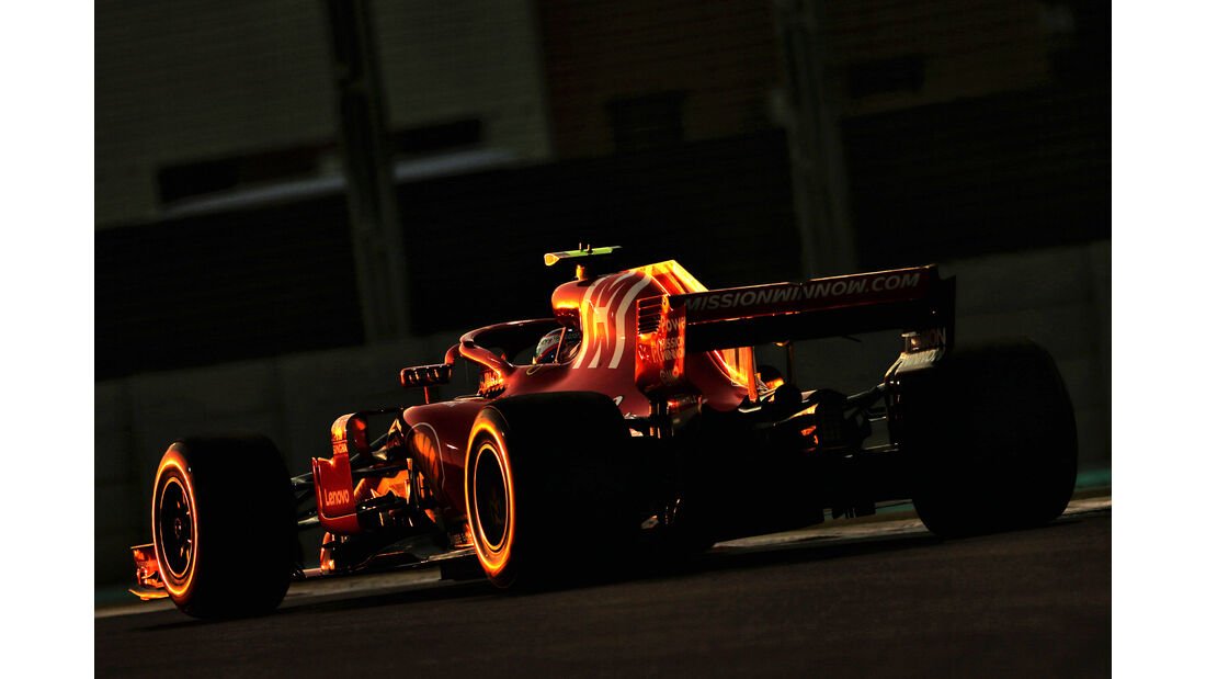Kimi Räikkönen - Formel 1 - GP Abu Dhabi 2018