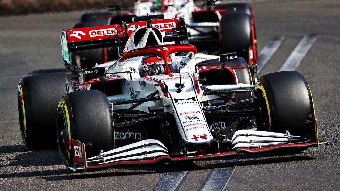 Kimi Räikkönen - Formel 1 - GP Aserbaidschan 2021