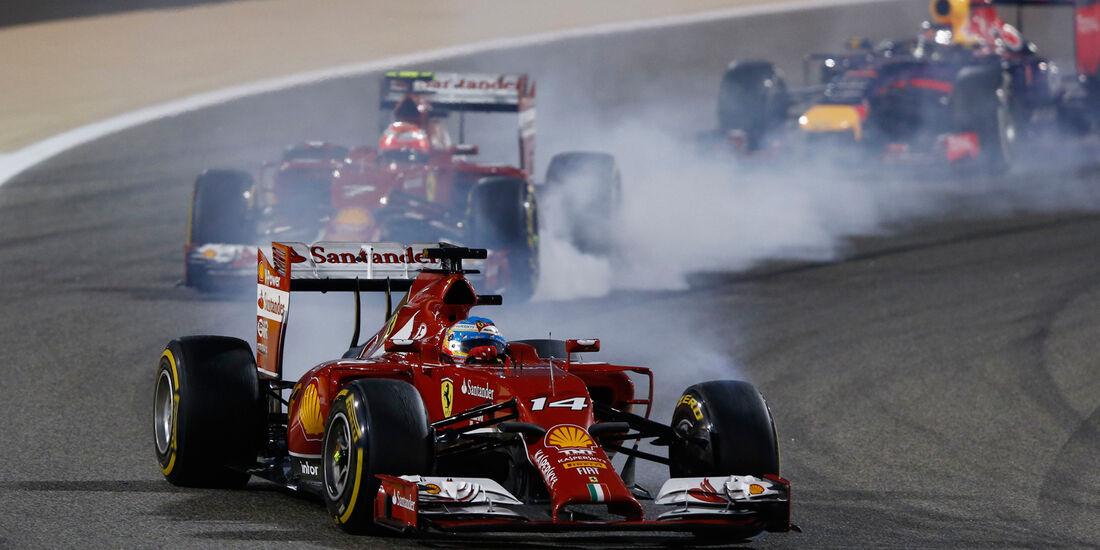 Kimi Räikkönen - Formel 1 - GP Bahrain 2014