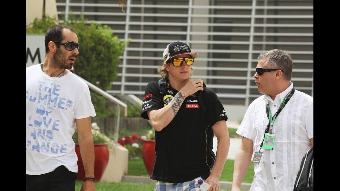 Kimi Räikkönen - Formel 1 - GP Bahrain - 21. April 2012