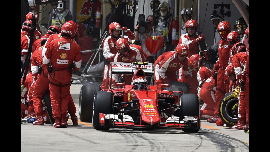 Kimi Räikkönen - Formel 1 - GP Brasilien 2015