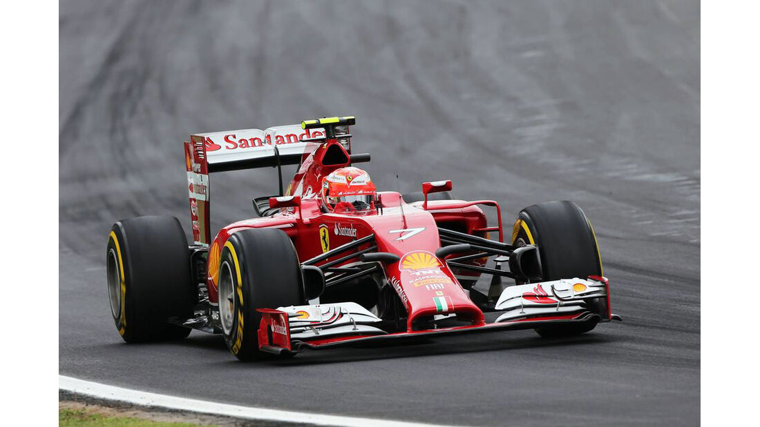 Kimi Räikkönen - Formel 1 - GP Brasilien - 8. November 2014