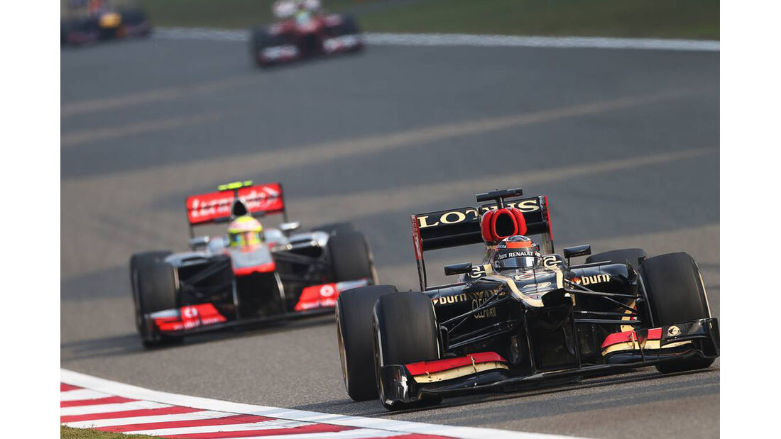 Kimi Räikkönen - Formel 1 - GP China - 14. April 2013