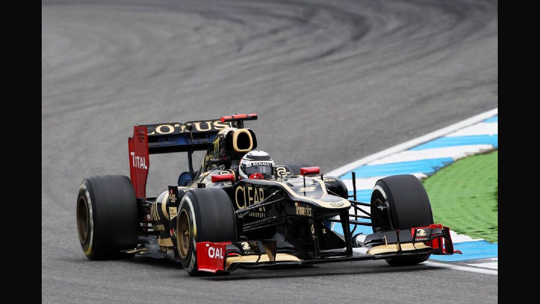 Kimi Räikkönen - Formel 1 - GP Deutschland - 20. Juli 2012