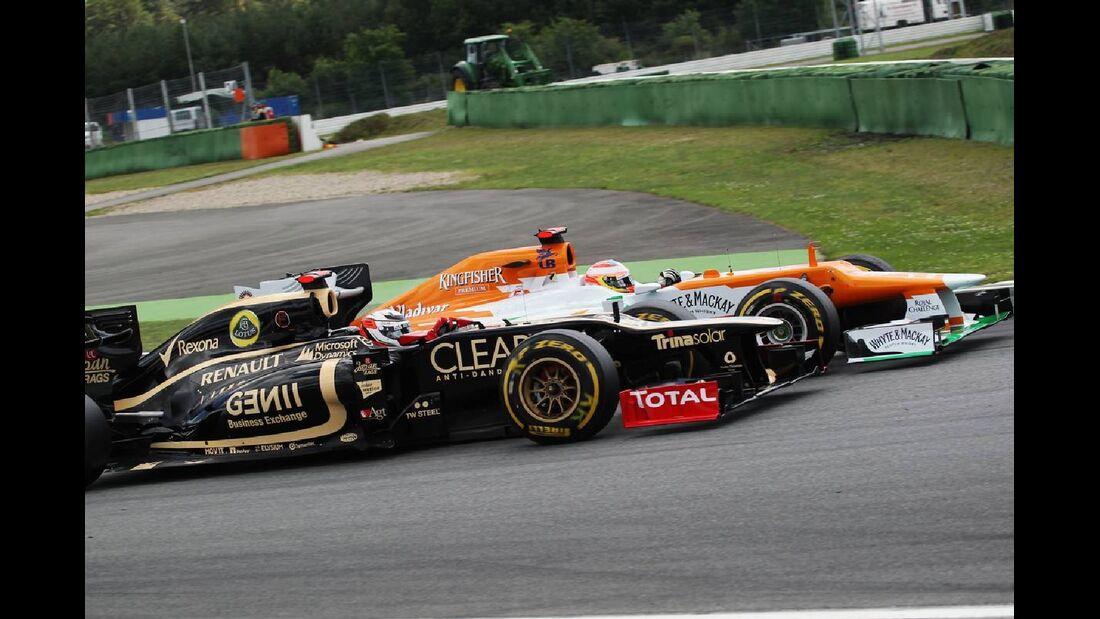 Kimi Räikkönen - Formel 1 - GP Deutschland - 22. Juli 2012