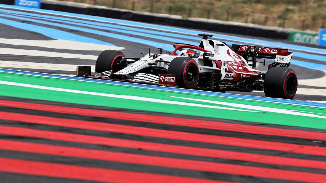 Kimi Räikkönen - Formel 1 - GP Frankreich 2021