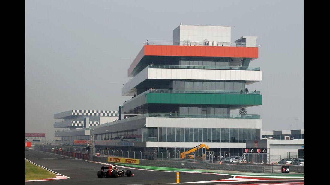 Kimi Räikkönen - Formel 1 - GP Indien - 26. Oktober 2012