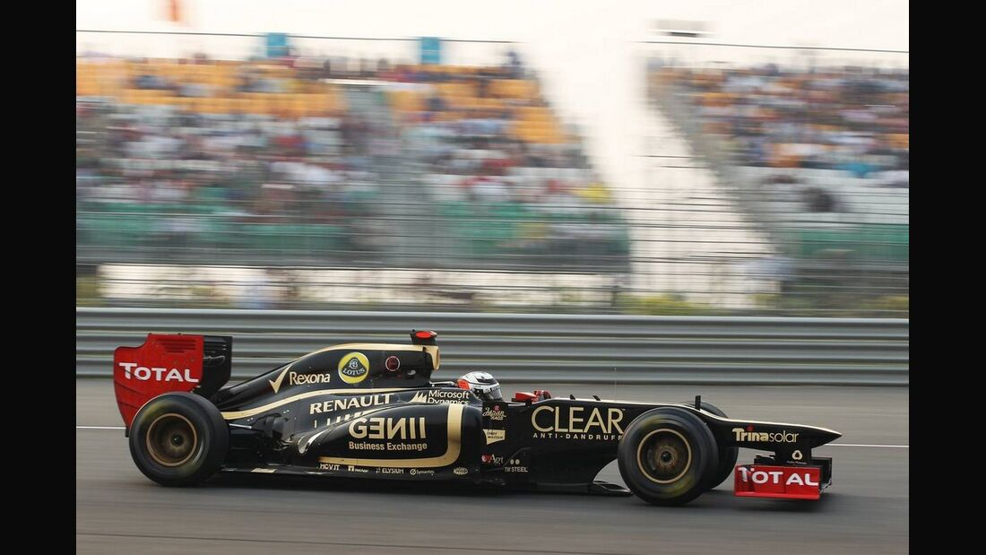 Kimi Räikkönen - Formel 1 - GP Indien - 28. Oktober 2012