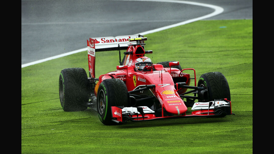 Kimi Räikkönen - Formel 1 - GP Japan - Suzuka - 25. September 2015