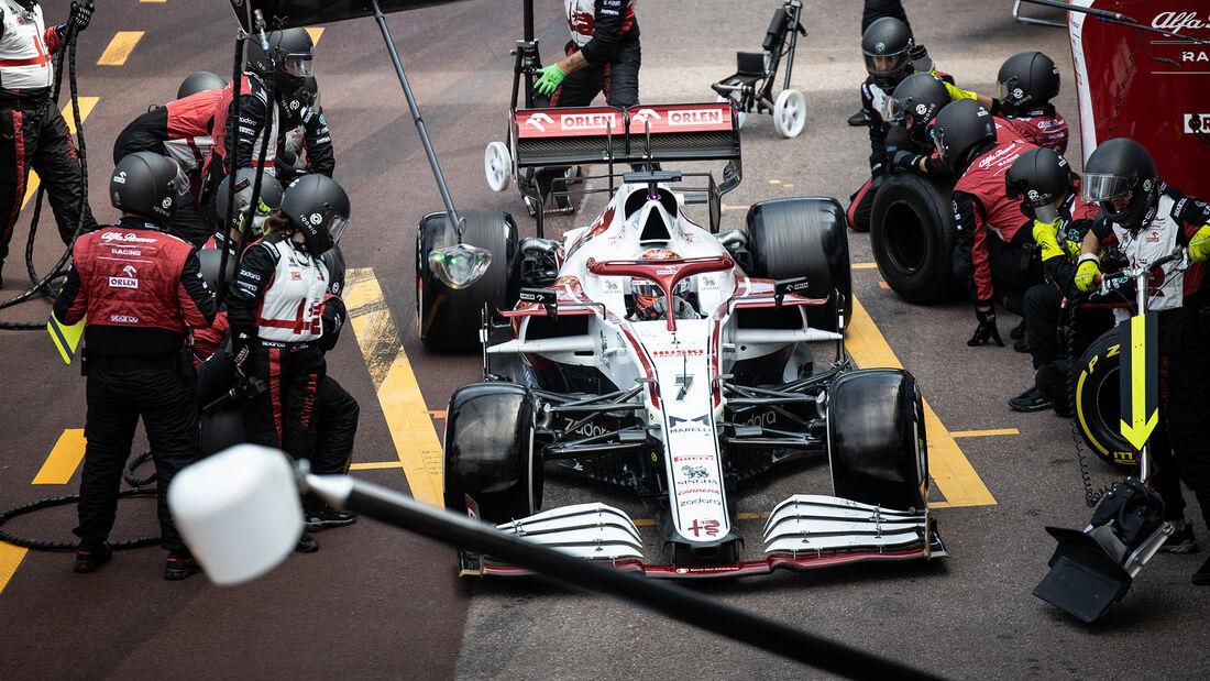Kimi Räikkönen - Formel 1 - GP Monaco 2021