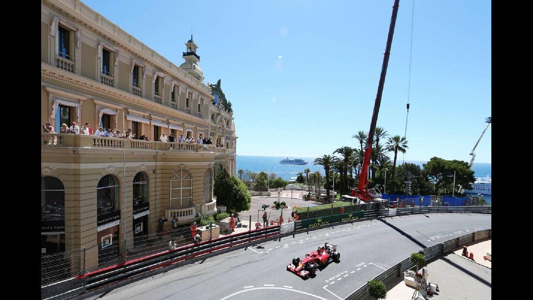 Kimi Räikkönen  - Formel 1 - GP Monaco - 24. Mai 2014