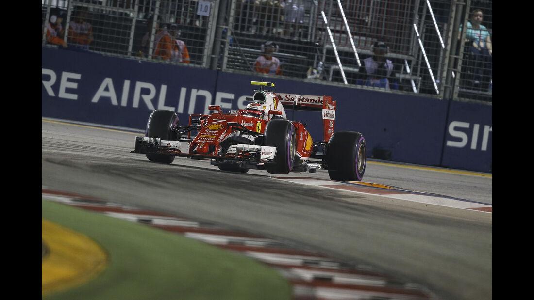 Kimi Räikkönen - Formel 1 - GP Singapur - 17. September 2016