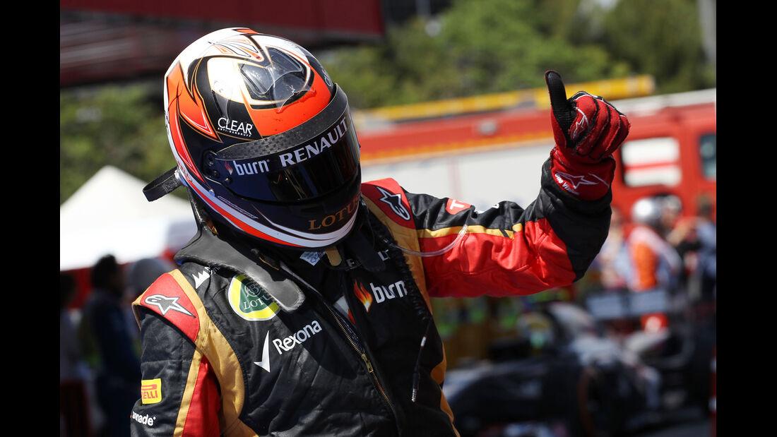 Kimi Räikkönen - Formel 1 - GP Spanien 2013