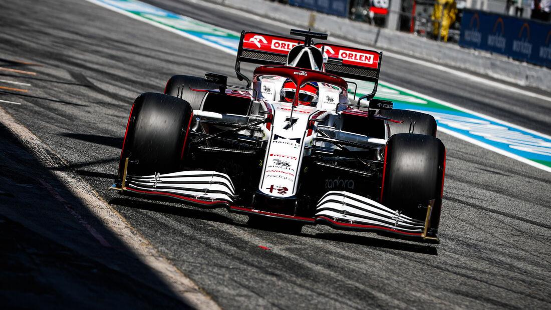 Kimi Räikkönen - Formel 1 - GP Spanien 2021