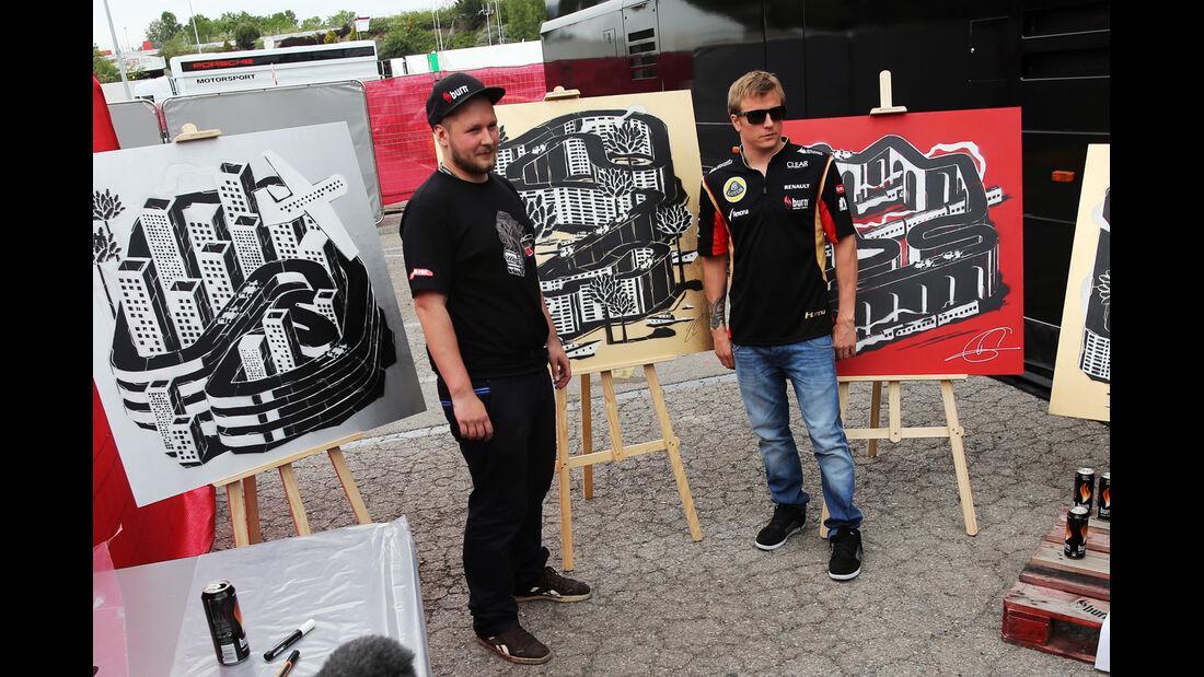 Kimi Räikkönen - Formel 1 - GP Spanien - 9. Mai 2013