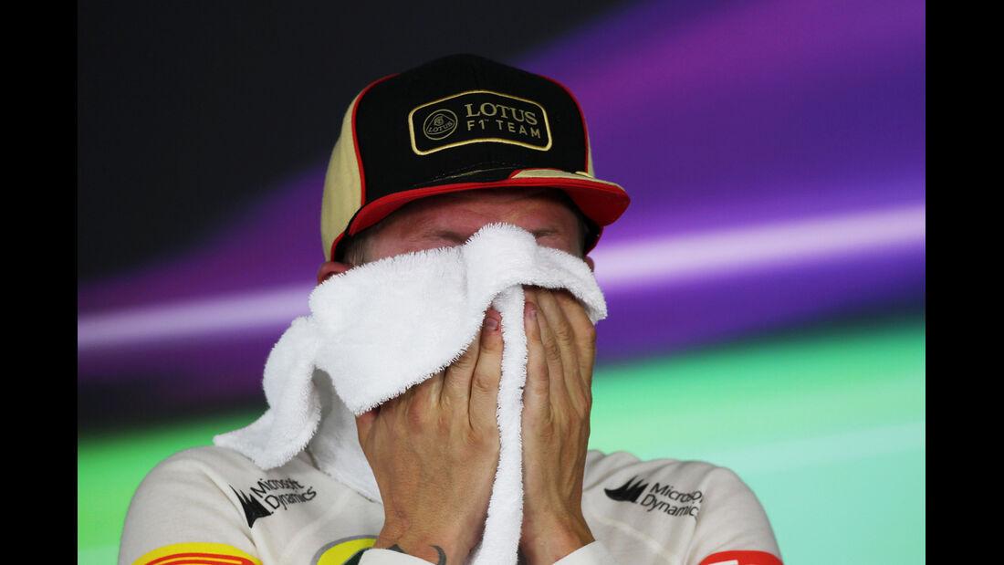 Kimi Räikkönen - Formel 1 - GP Ungarn 2013