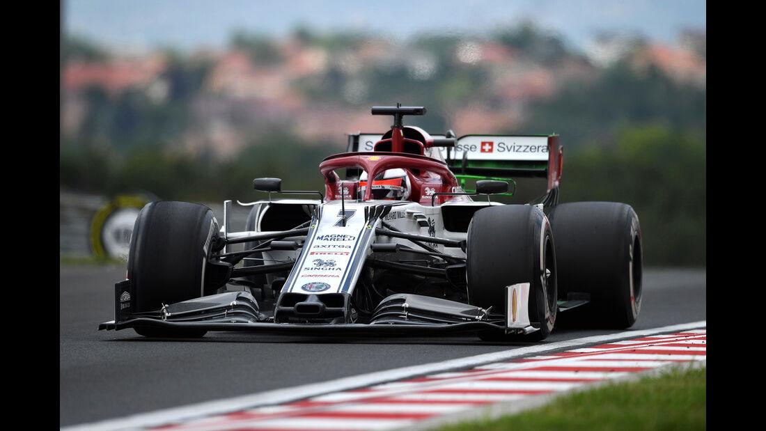 Kimi Räikkönen - Formel 1 - GP Ungarn 2019
