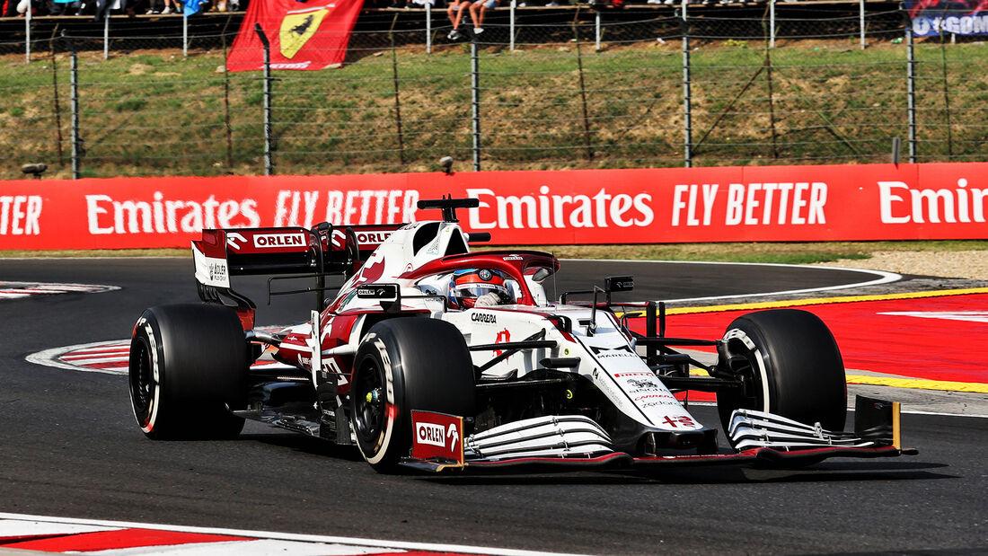 Kimi Räikkönen - Formel 1 - GP Ungarn 2021