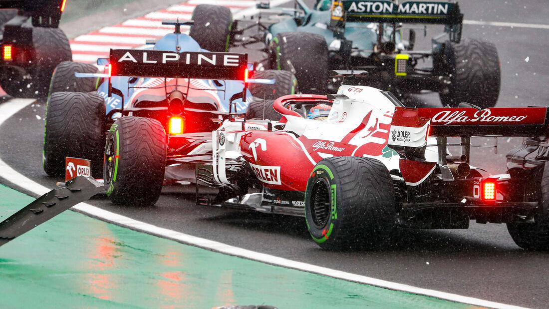 Kimi Räikkönen - Formel 1 - GP Ungarn - 2021