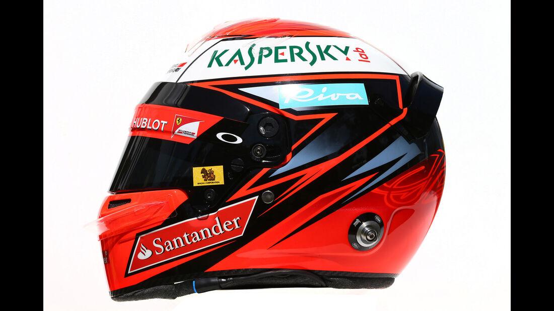 Kimi Räikkönen - Formel 1 - Helm - 2016