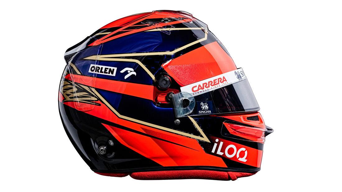 Kimi Räikkönen - Formel 1 - Helm - 2021