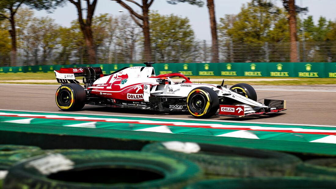 Kimi Räikkönen - Formel 1  - Imola - GP Emilia Romagna 2021