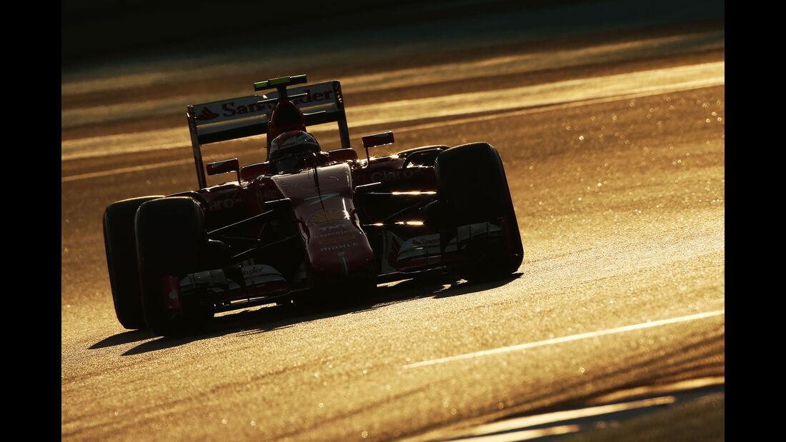 Kimi Räikkönen - GP Abu Dhabi 2015