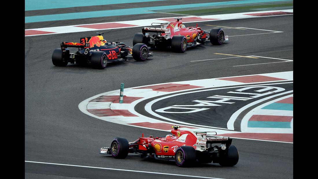 Kimi Räikkönen - GP Abu Dhabi 2017