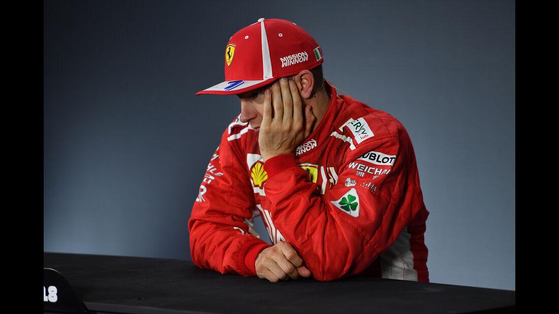 Kimi Räikkönen - GP Abu Dhabi 2018