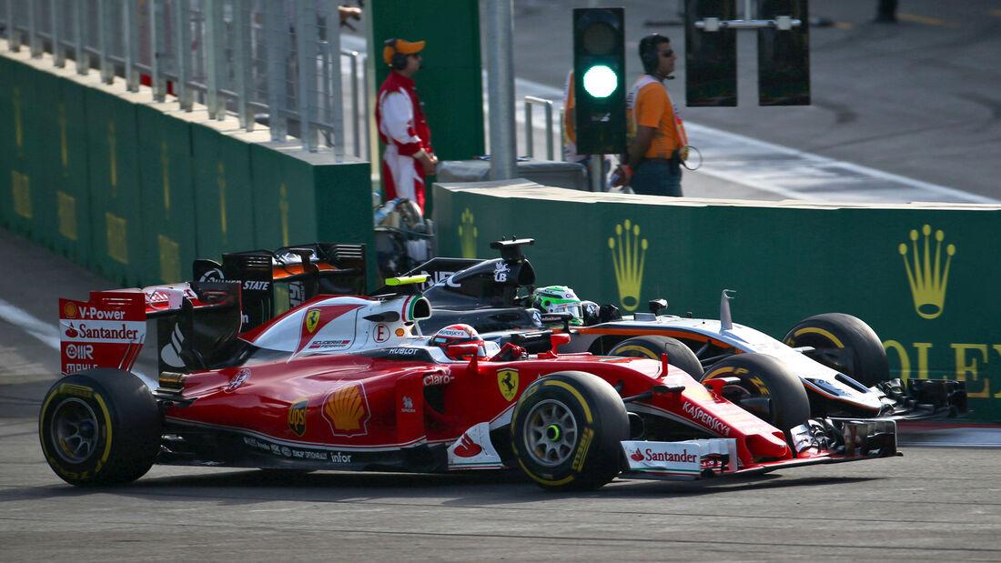 Kimi Räikkönen - GP Aserbaidschan - Formel 1 - 2016