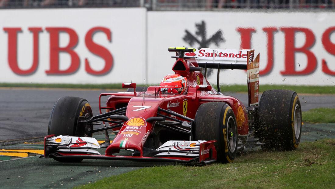 Kimi Räikkönen - GP Australien 2014
