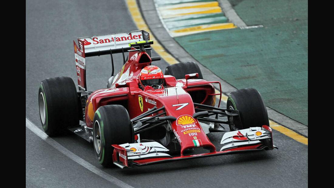 Kimi Räikkönen GP Australien 2014 Ferrari