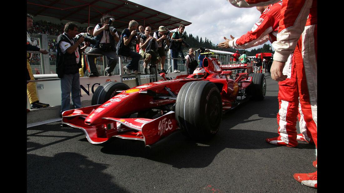 Kimi Räikkönen - GP Belgien 2007