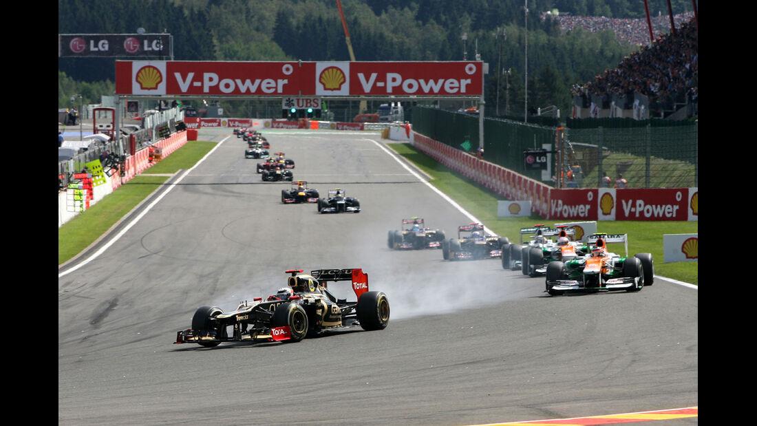 Kimi Räikkönen - GP Belgien 2012