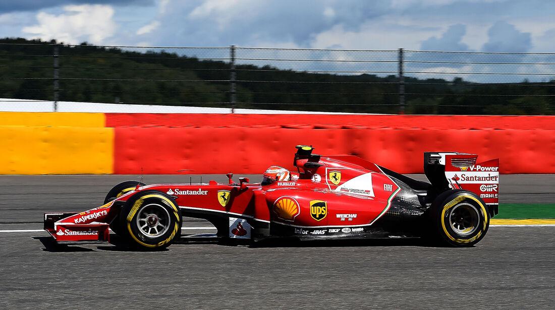 Kimi Räikkönen - GP Belgien 2014
