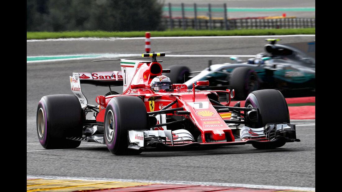 Kimi Räikkönen - GP Belgien 2017